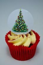 Edible cake toppers decoration - Christmas Tree